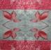 Ubrousek rostliny - červené listy