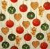 Ubrousek vánoční - barevné baňky