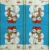 Ubrousek vánoční - dva sněhuláci