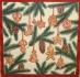 Ubrousek vánoční - perníčky na větvičce