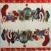 Ubrousek vánoční - vánoční ponožka