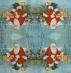 Ubrousek vánoční - Santa v lese