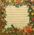 Ubrousek vánoční - vánoční noty