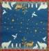 Ubrousek vánoční - zvířátka pod hvězdami