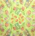 Ubrousek velikonoční - vajíčka, tulipány na zeleném