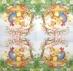 Ubrousek velikonoční - zvířátka v hnízdečku