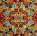 Ubrousek vzorovaný - barevná kolečka