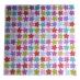Ubrousek vzorovaný - barevné květinky