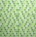 Ubrousek vzorovaný - zelená kolečka