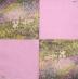 Ubrousek světoví malíři - Monet, zahrada v Giverny