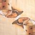 Ubrousek káva - skořice na hrnku