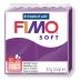 Fimo soft - purpurová 57g