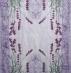 Ubrousek květiny - levandule na fialovém