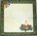 Ubrousek vánoční - svíčka, zvonky
