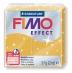 Fimo effect - zlatá se třpytkami 57g