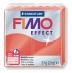 Fimo effect - transparentní červená 57g