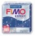 Fimo effect - modrá se třpytkami 57g