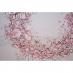 Papír na scrapbooking - věnec z třešňových květů