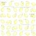 Papír na scrapbooking - citrony